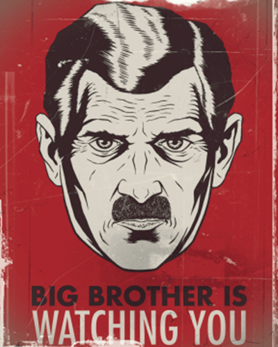 big brother 1984 george orwell