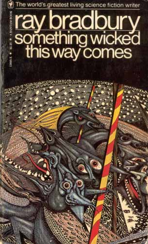 Ra Bradbury book cover Something Wicked This Way Comes
