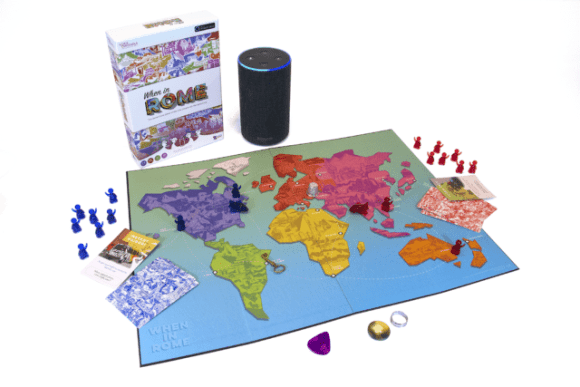 The When In Rome board game