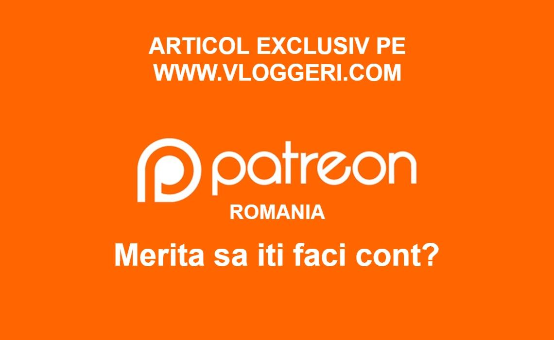 Patreon Romania – Merita sa-ti faci cont?