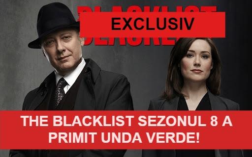 The Blacklist Sezonul 8