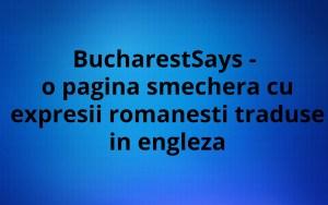 BucharestSays