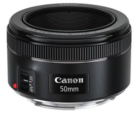 f/1.8 Fixed Canon STM 50mm - One good Canon lens for youtube