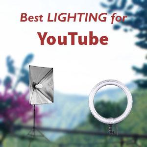 best lighting for youtube videos 2021