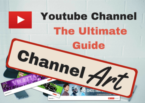 youtube channel art templates banner and icons vlogging hero