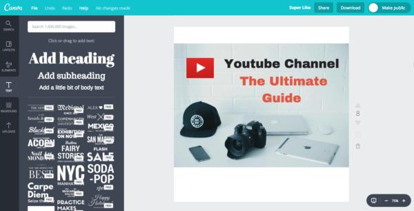 Youtube vlogging software