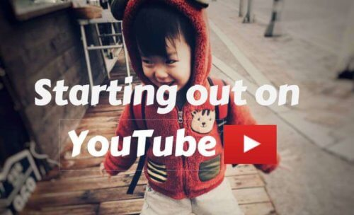 Youtubers and Vloggers Start