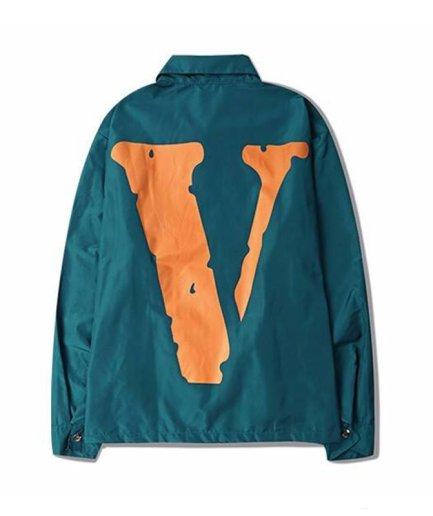 Vlone Denim Friends Blue Jacket