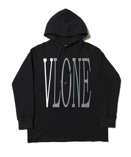 Vlone Staple Design Fashion Black Hoodie