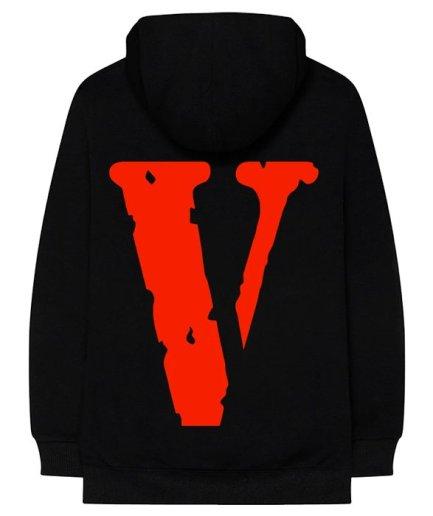 Vlone Nav Bad Habits Black Hoodie