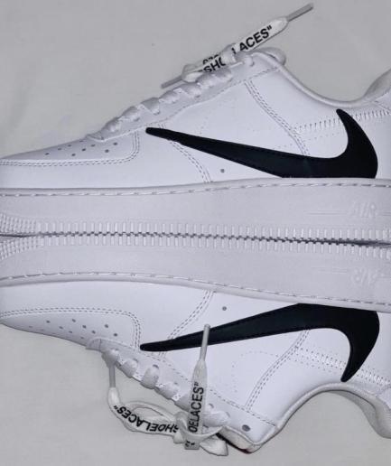 Nike x VLONE Reverse Swoosh White Shoes