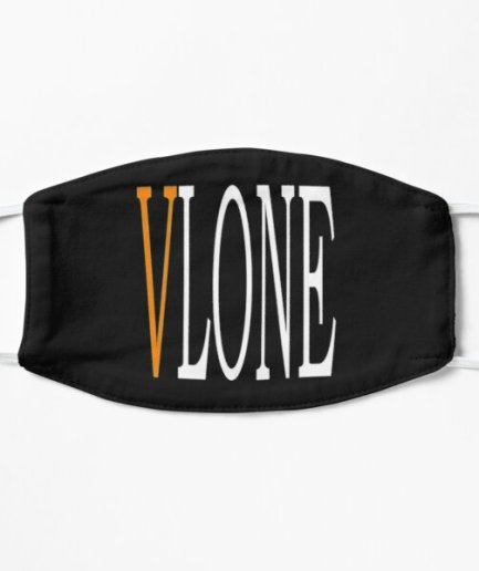 VLONE Black Face Mask