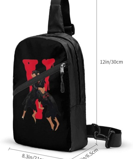V-Lone City Morgue Sports Fitness black Backpack