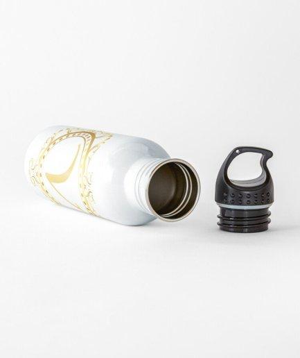 V-Lone King Shape Letter Water White Bottle