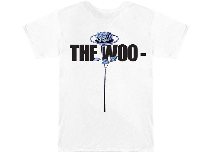 VLONE x Pop Smoke The Woo White T-Shirt