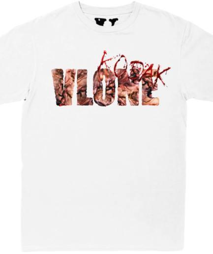 Kodak Black x Vlone Vlonekb White T-Shirt