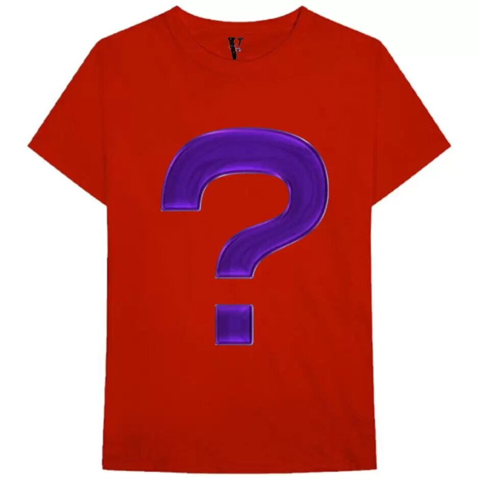 Mystery T-Shirt -Red