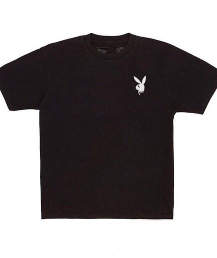 Vlone x Playboy Carti Bunny Black T-Shirt