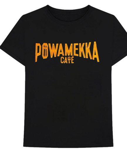 Vlone x Tupac Powamekka Cafe Black T-Shirt