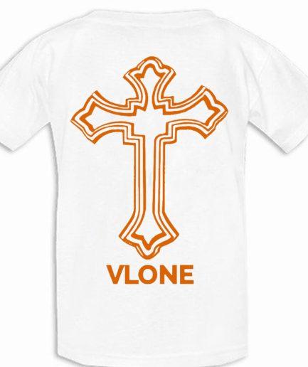 Vlone x Tupac Powamekka Cafe White T-Shirt