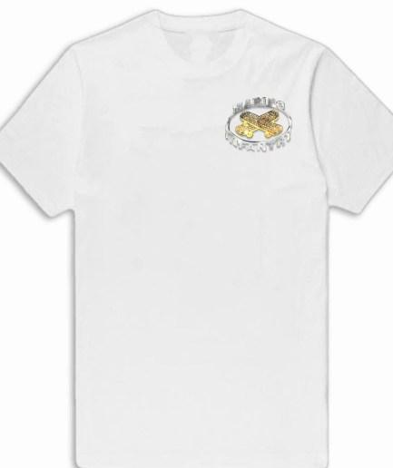 Vlone x Marino Infantry Diamond White T-Shirt