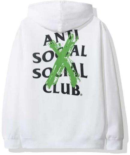 Anti Social Social Club Cancelled Remix Hoodie-Back