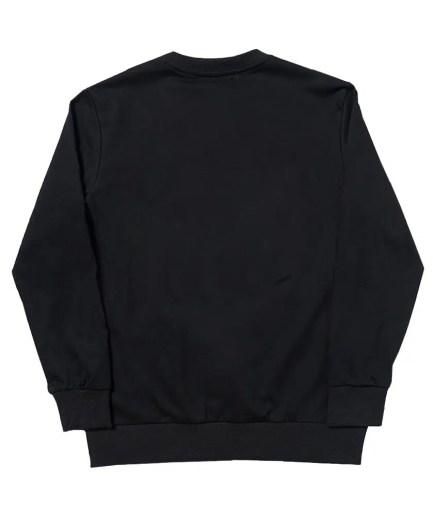 Corpse Husband Miss You! Crewneck Sweatshirt – Black-Back