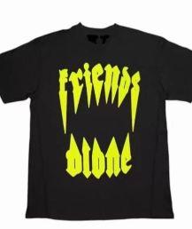 Vlone Pop Up Yellow Houston Texas T-Shirt – Black