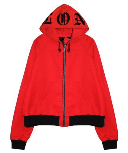 VLONE Pre Owned Cotton Red Jacket