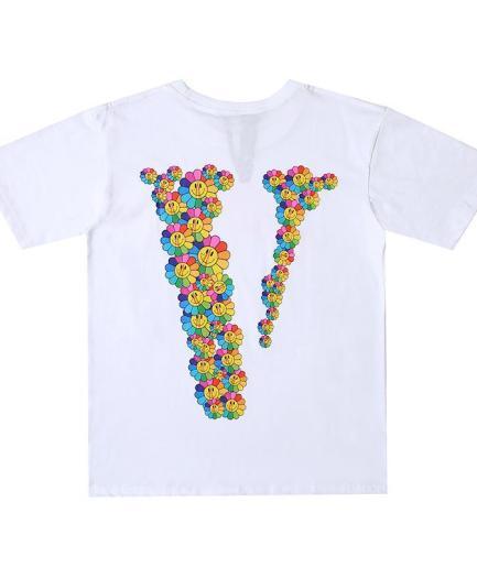 Vlone Smile Sunflower White T-Shirt