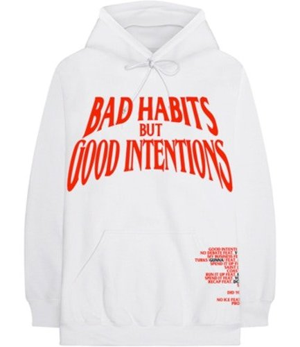 VLONE X NAV Bad Habits But Good Intentions Hoodie