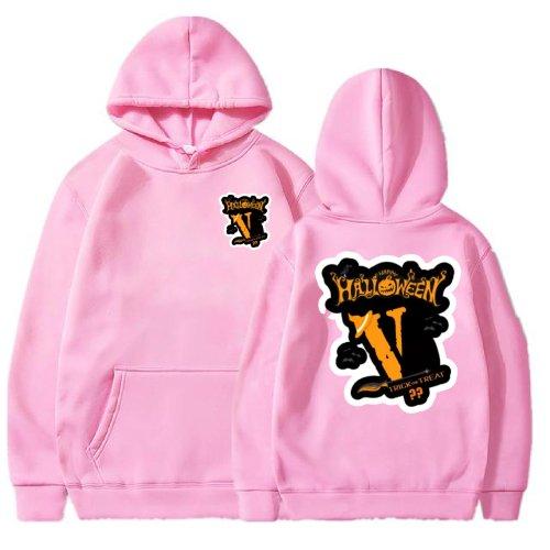 Vlone Halloween Pink Hoodie