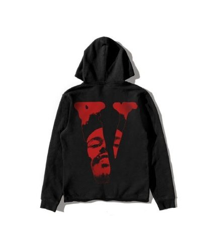 Vlone x After Hours Dice Pullover Black Hoodie