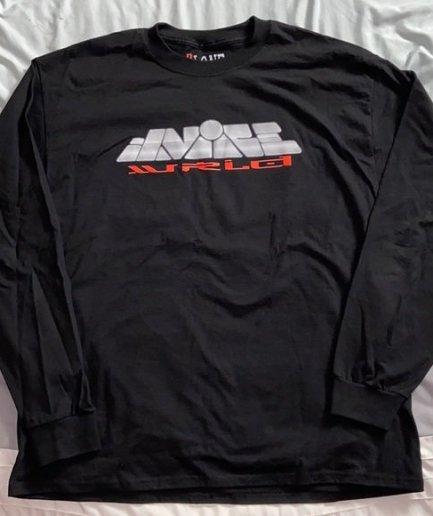 Juice Wrld x Vlone Sweatshirt-Black -Front