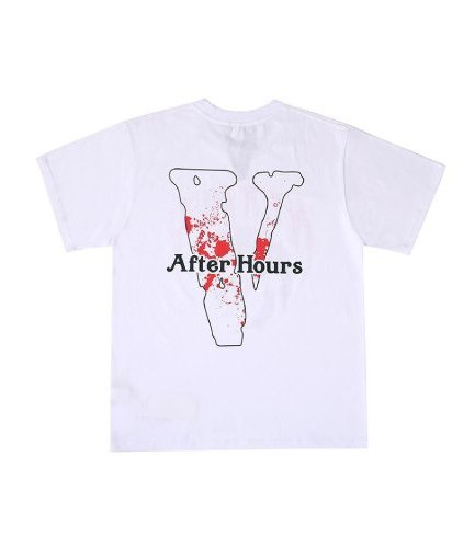 Vlone After Hours I Afro White Tee
