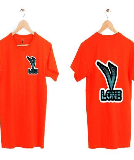Vlone Staple Fashion Red T-Shirt