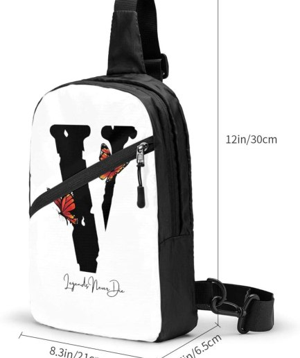V-Lone Butterfly Sports Fitness White Backpack