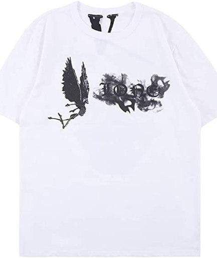Vlone Arnodefrance V Letter Print T-Shirt Front