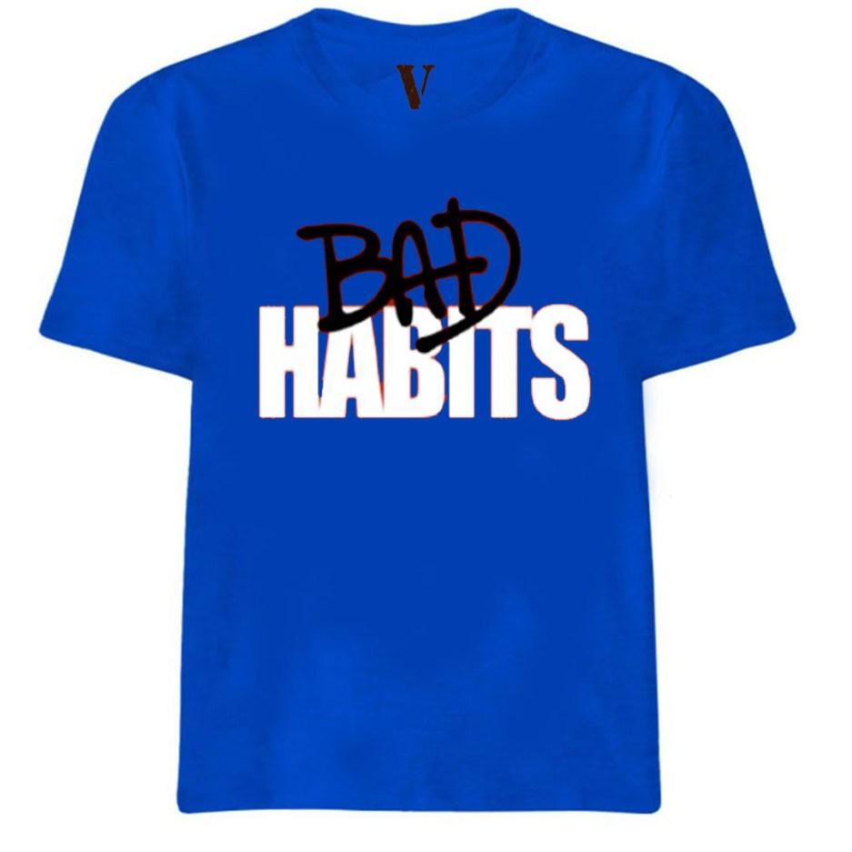 Nava VLONE Drip T-Shirt Vlone Shop Blue