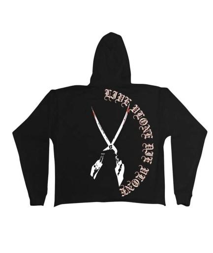 VLONE Friends Scissors hoodie