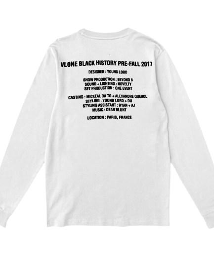 Vlone Black History SweatShirt - White
