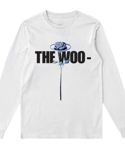 VLONE The Woo x Pop Smoke White Shirt
