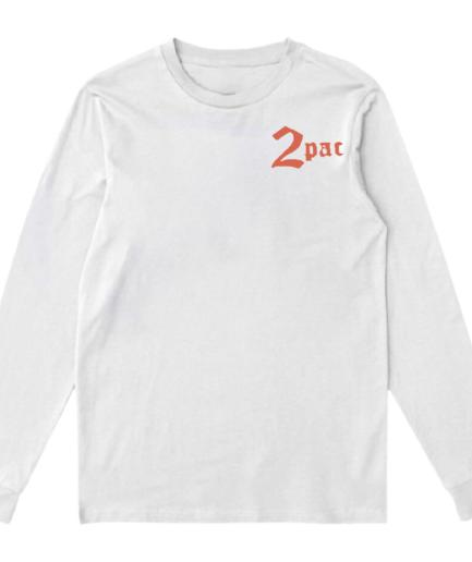 Vlone x Tupac Cross Sweatshirt – White