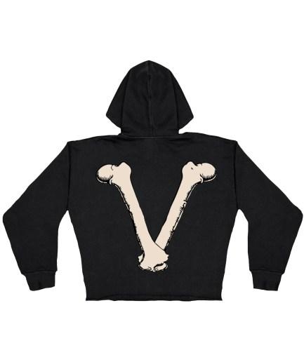 Vlone Lost Bones Hoodie – Black – Kids