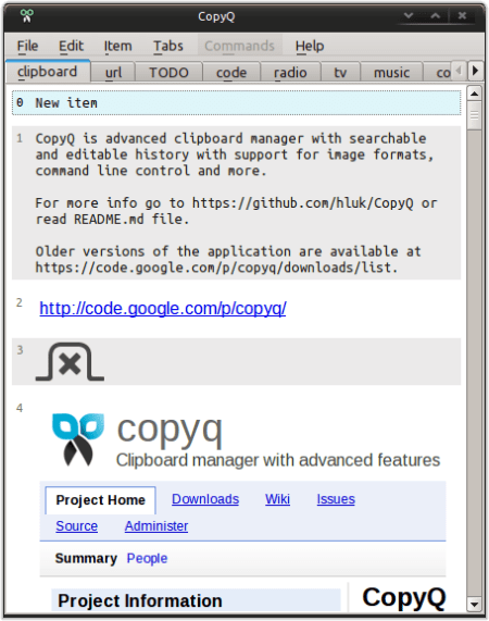CopyQ 3.9.3 Crack With Serial Key Full Free Download