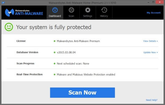 Malwarebytes Anti-Malware 3.5.1 Activation Key