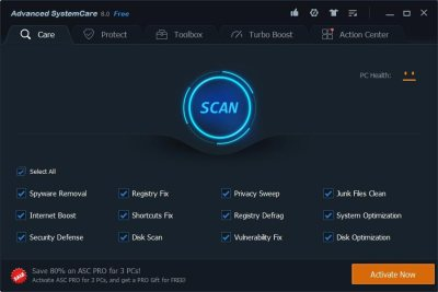 Advanced SystemCare Pro 12.6.0.368 Crack 2020 With Keys 2020
