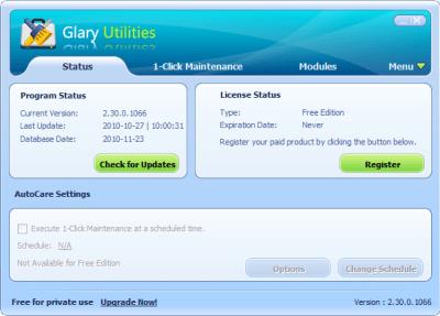 Glary Utilities 5.111.0.136 License Key