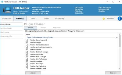 HDCleaner 1.293 Crack With Product Key Free Download 2020