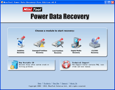 MiniTool Power Data Recovery 8.7 Crack + License Code 2020